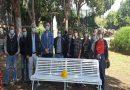 Parco Borsellino, inaugurazione panchina bianca per sensibilizzare sulle morti bianche